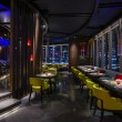 Hakkasan Jakarta's main dining room, now open